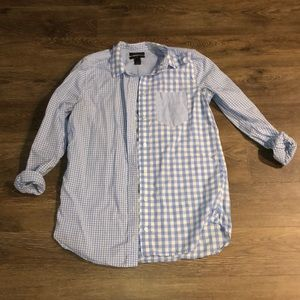 JCrew | Gingham button down